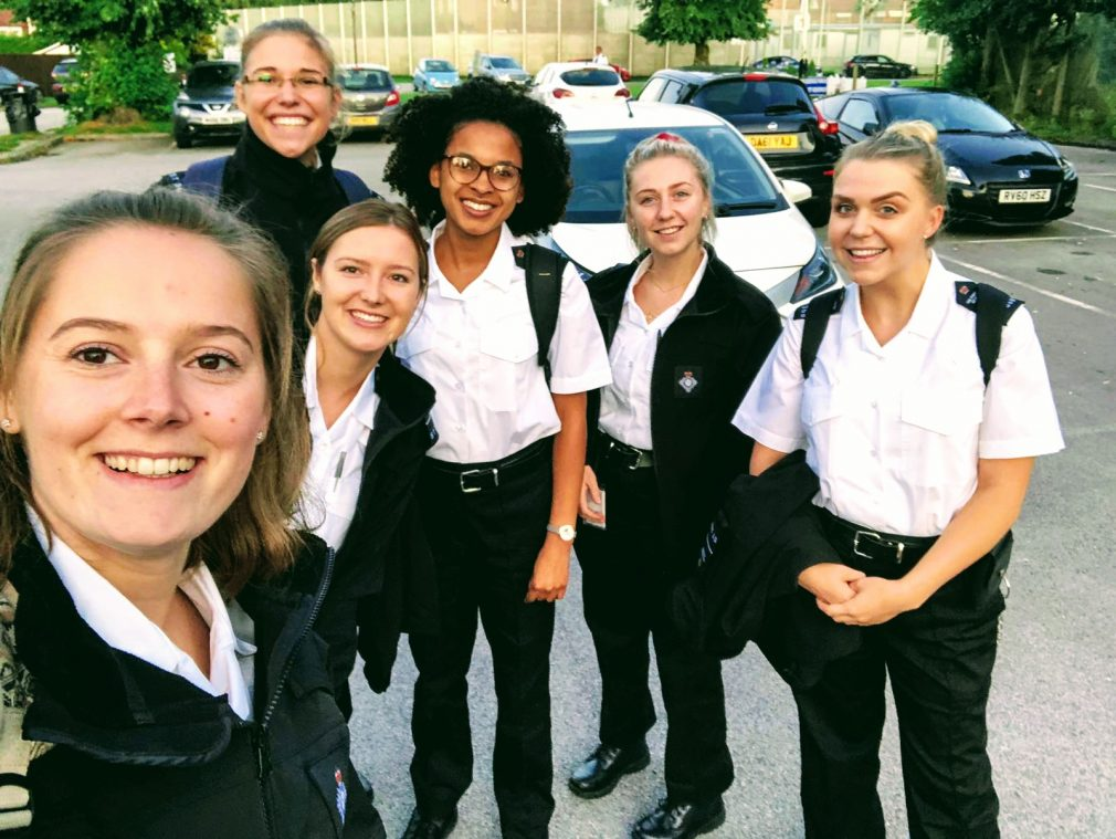 Unlocked Graduates' officers at HMP Styal